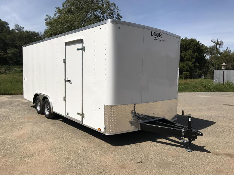 2018 Look Trailers ST 8.5' x 20' Enclosed Car Trailer