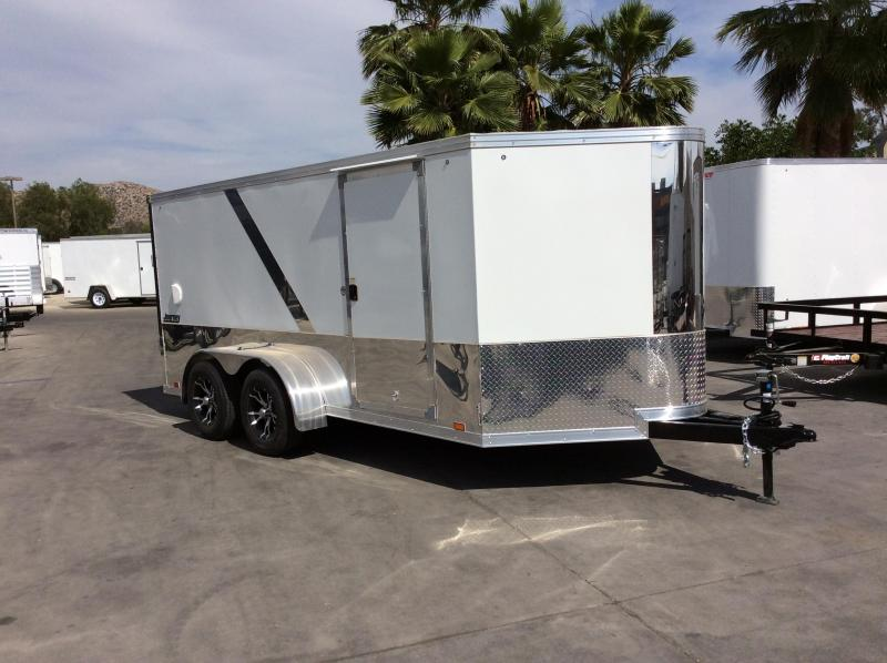 2018 Pace American Legacy Motorcycle 7' x 14' Motorcycle Trailer