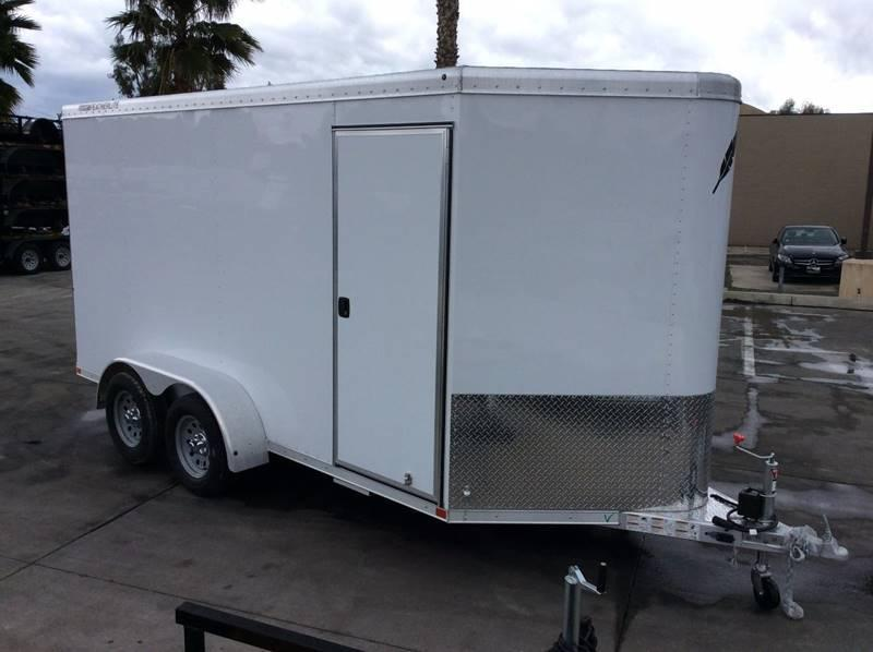 "2017 Featherlite 1610 6'7"" x 14' Enclosed Cargo Trailer"
