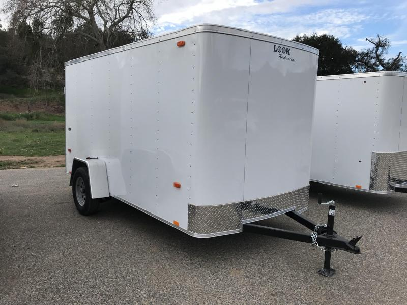 2017 Look Trailers STLC 6' x 12'  Cargo / Enclosed Trailer