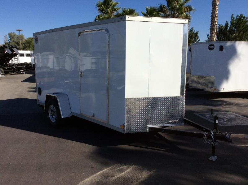 2018 Wells Cargo WCVG 6' x 12' Enclosed Cargo Trailer