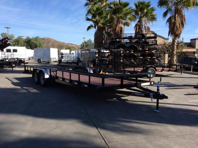"2018 Sun Country 77"" x 24' PP Utility Trailer"