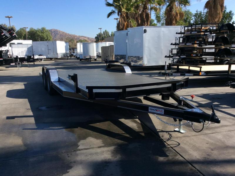 "2018 Innovative Trailer Mfg. SFCH 83"" x 20' Flatbed Trailer"