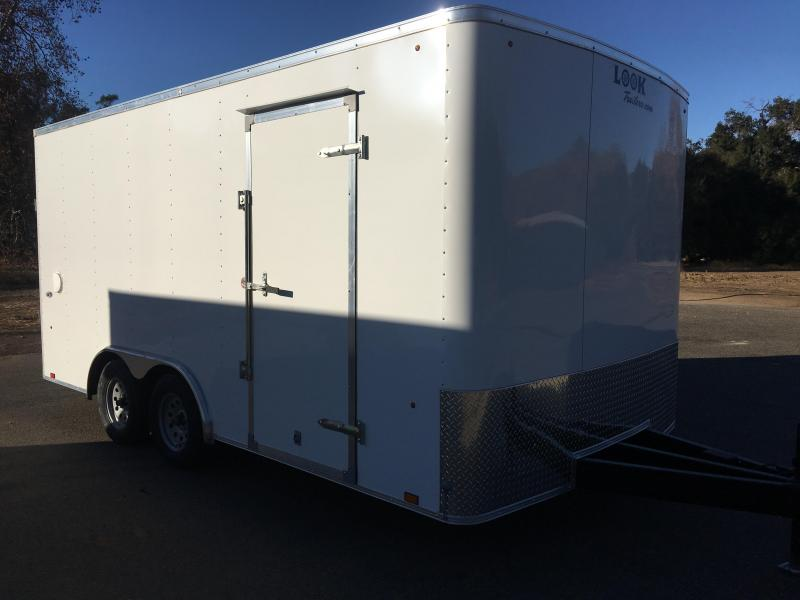2018 Look Trailers ST 8.5' x 16' Enclosed Car Trailer