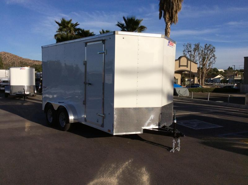 2018 Pace American Outback Vnose 7' x 14' Enclosed Cargo Trailer
