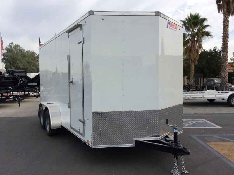 2018 Pace American Outback Vnose 7' x 16' Enclosed Cargo Trailer