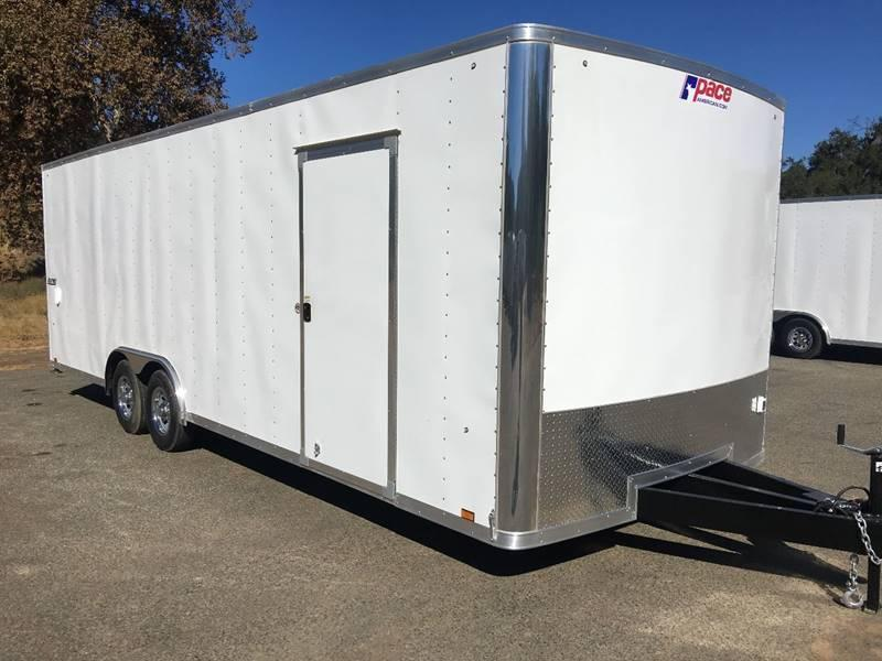 2018 Pace American Journey 8.5' x 24' Enclosed Car Trailer