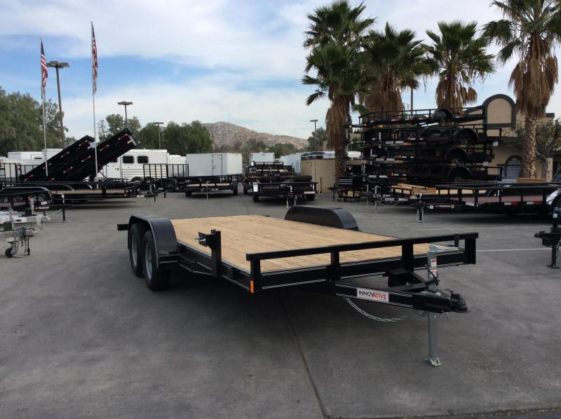 "2018 Innovative Trailer Mfg. EW CH 83"" x 16' Flatbed Trailer"