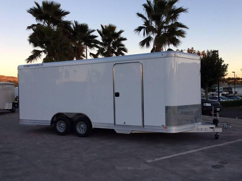 2017 Featherlite 4926 8.5' x 20' 7K Enclosed Car Trailer