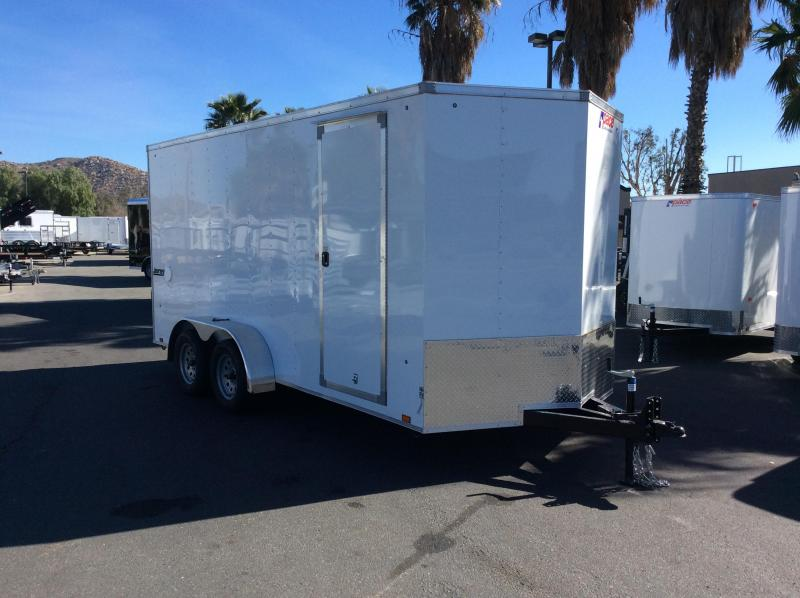 2018 Pace American Journey 7' x 16' Enclosed Cargo Trailer