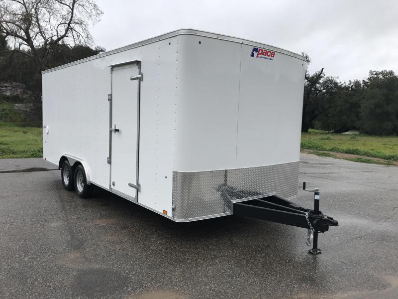 2018 Pace American Outback 8.5' x 20' Enclosed Car Trailer