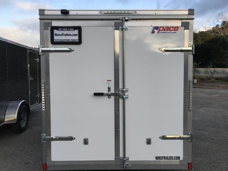 2018 Pace American Outback 6' x 10' Enclosed Cargo Trailer