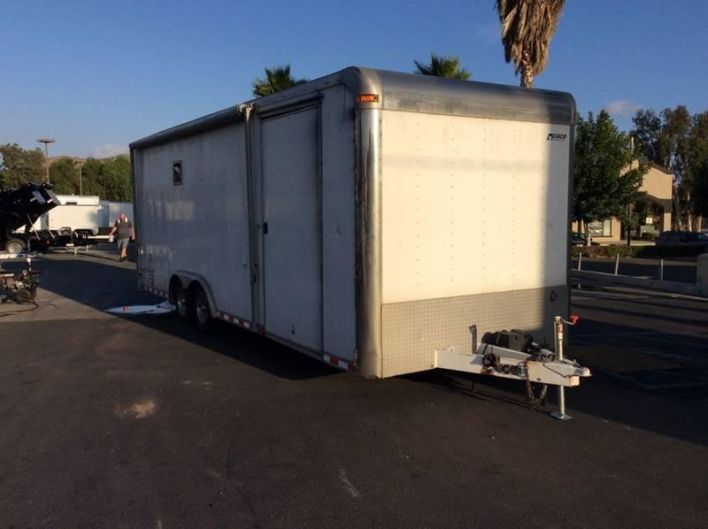 2000 Pace American Shadow GT 8.5' x 24' Enclosed Car / Racing Trailer