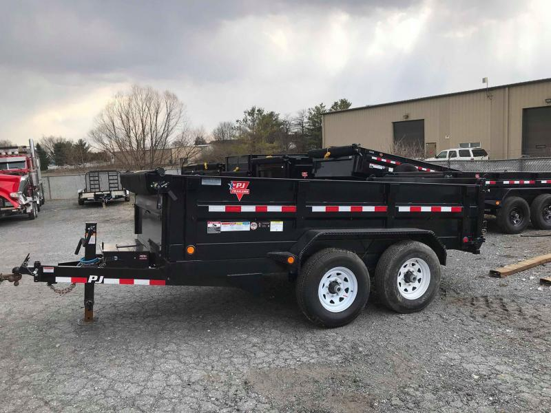 2018 PJ Trailers 12x83 in. Tandem Axle Dump (D7) Dump Trailer