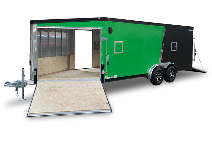 2018 Haulmark HAS75X22WT2 Snowmobile Trailer