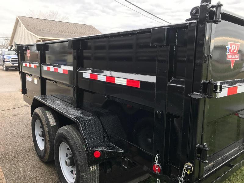 2018 PJ Trailers DH - 14x83 High Side Dump Trailer