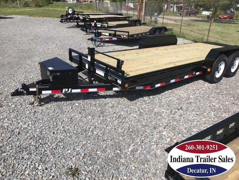 "2018 PJ Trailers Powered Full Tilt TF - 82""x20' Equipment Trailer"