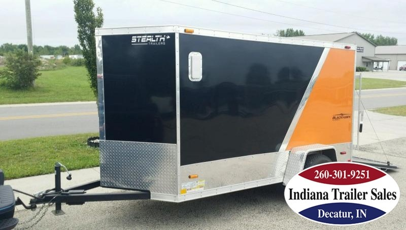 2010 Stealth Trailers Black Hawk 5x10 Enclosed Cargo Trailer