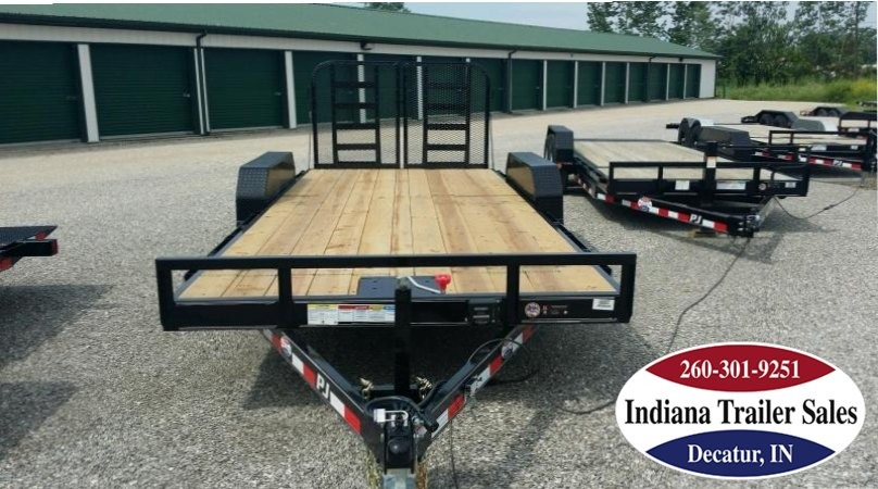 "2018 PJ Trailers CE 83""x20' Equipment Trailer"