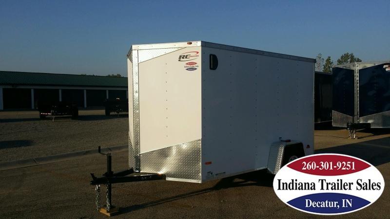 2018 RC Trailers RWT6x10SA Enclosed Cargo Trailer