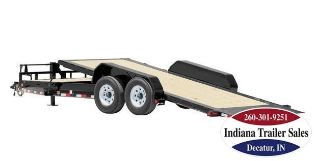 "2018 PJ Trailers TJ2282 82""x22' Equipment Trailer"