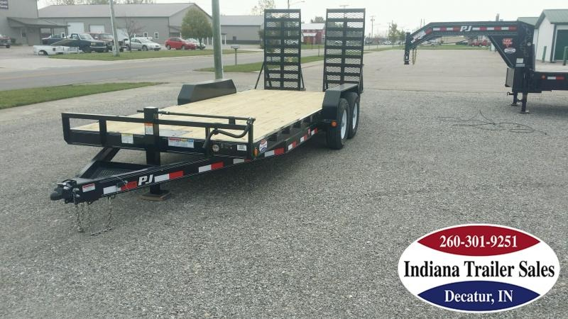 "2018 PJ Trailers CC 83""x20' Equipment Trailer"