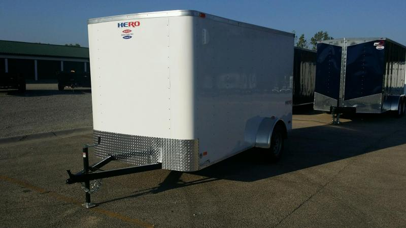 2018 Bravo Trailers HR6x12SA Enclosed Cargo Trailer