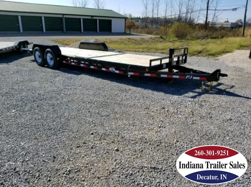 "2018 PJ Trailers T6 - Tilt 82""x24' Equipment Trailer"