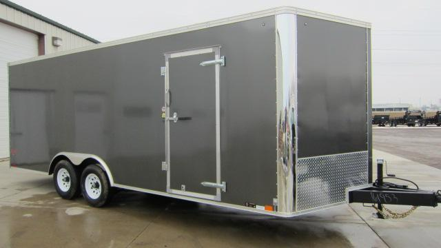 2018 United Trailers XLTV 85x23 Enclosed Trailer