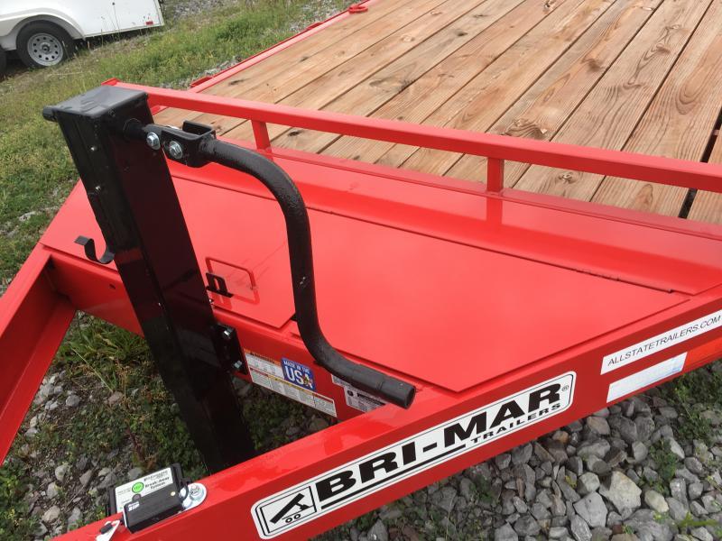 2017 Bri-Mar EH818-14HD Equipment Trailer 7 x 18