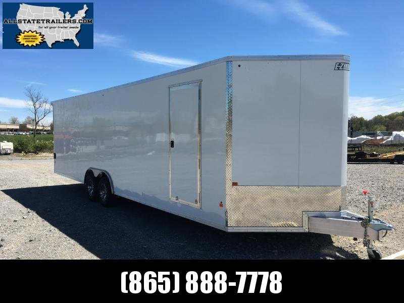 2017 EZ Hauler ( 8 x 28) EZEC8X28CH Car / Racing Trailer | Cargo ...