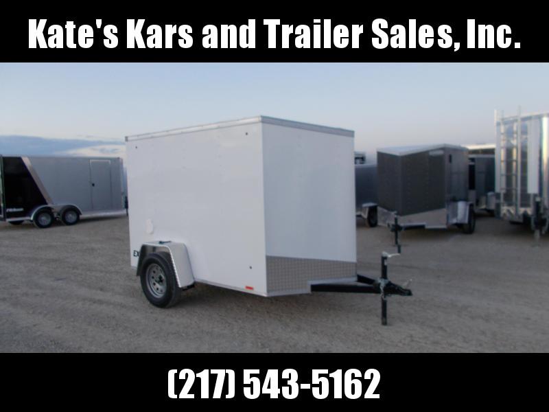 *NEW* 5X8 Enclosed Cargo Trailer Ramp door LED