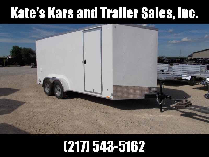 *NEW** Extra Height Cargo Express 7X16' Enclosed Box Trailer