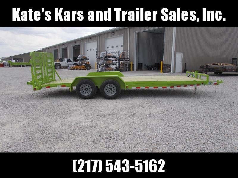 *NEW* Load Trail 20' BRIGHT GREEN 9990 GVWR Car Hauler Equipment Trailer