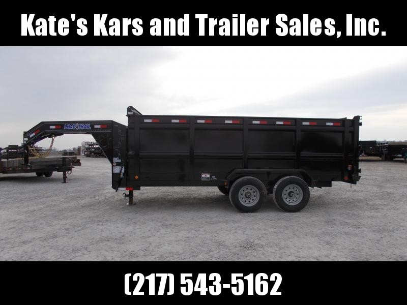 *NEW* 16' Ft Gooseneck Dump Trailer 48 IN Tall sides