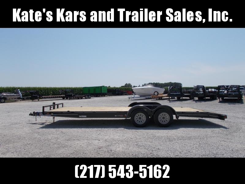 *NEW**Load Trail 83x22' 7K Car Hauler Trailer Flatbed