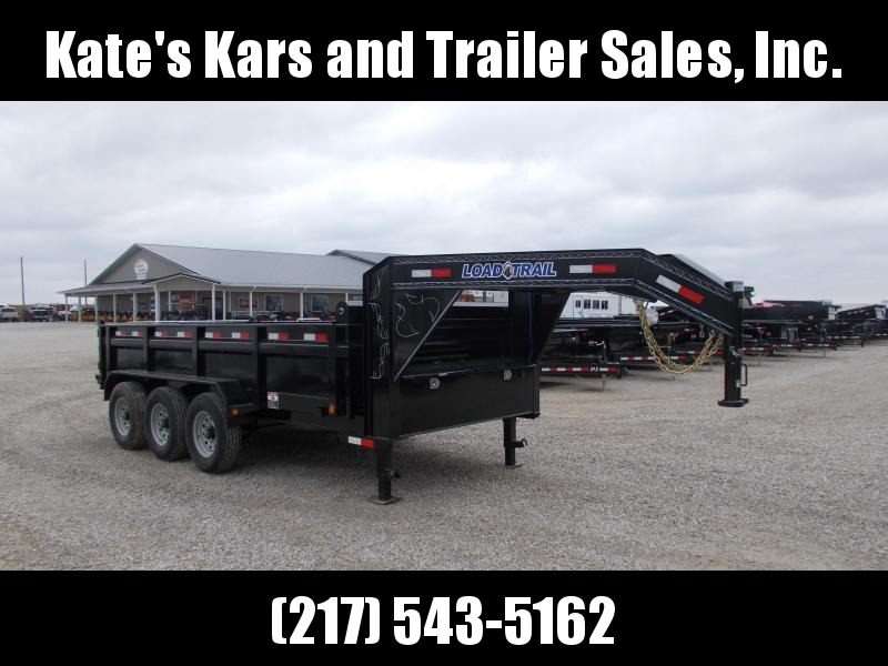 *NEW* Load Trail Gooseneck 83X16' Triple Axle Dump Trailer for sale