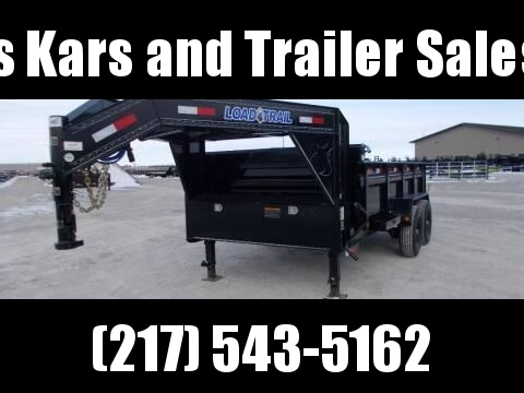 *NEW** LARGE SELECTION!!! Load Trail Gooseneck 14' Dump Trailer