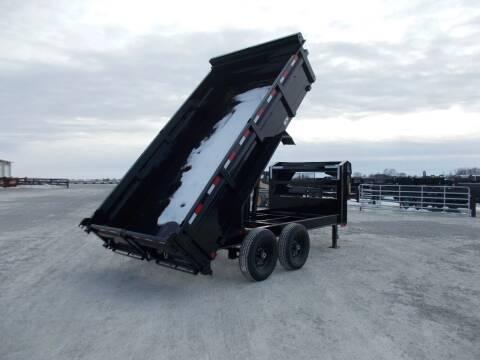 *NEW** LARGE SELECTION!!! Load Trail Gooseneck 14' Dump Trailer