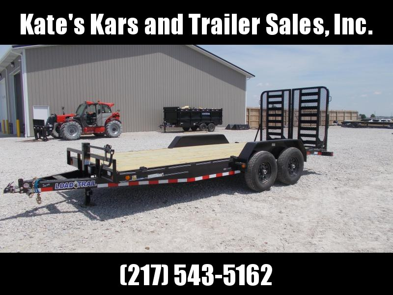 *NEW!! Load Trail CH14 Carhauler 83 x 18' Flatbed Trailer
