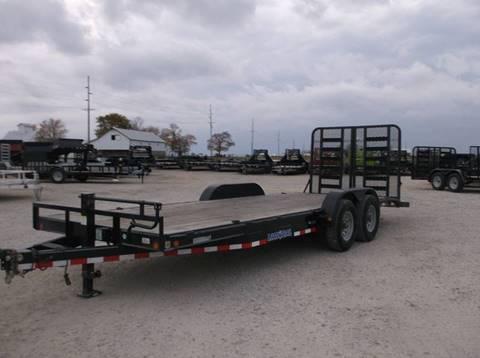 2016 Load Trail CH8322072 22' Ft Equipment Trailer