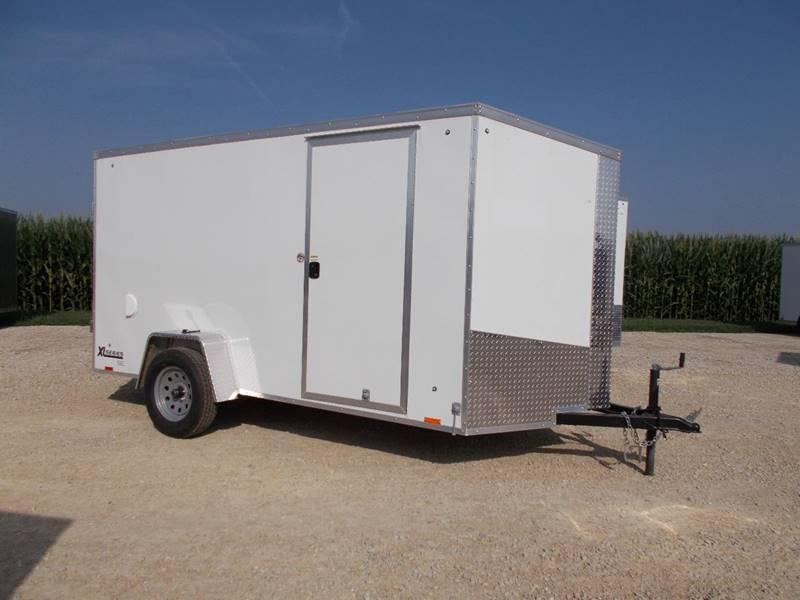 *NEW* Cargo Express 6X12' Trailer Screwless Sides Enclosed Cargo