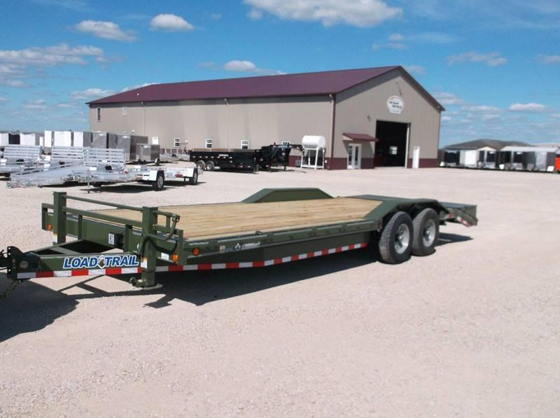 "2017 Load Trail 24' Equipment Trailer 14000 LB GVWR 102"" wide"