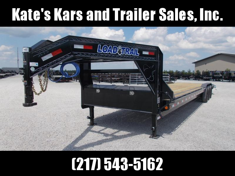 2020 Load Trail 102X36 Buggy Hauler Triple Axle Flatbed Trailer