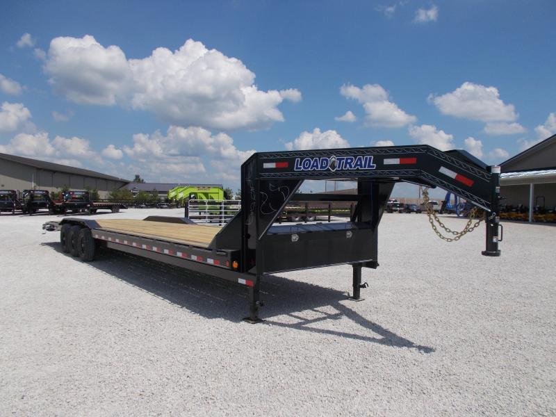 2020 Load Trail 102X36 Buggy Hauler Triple Axle Flatbed Trailer