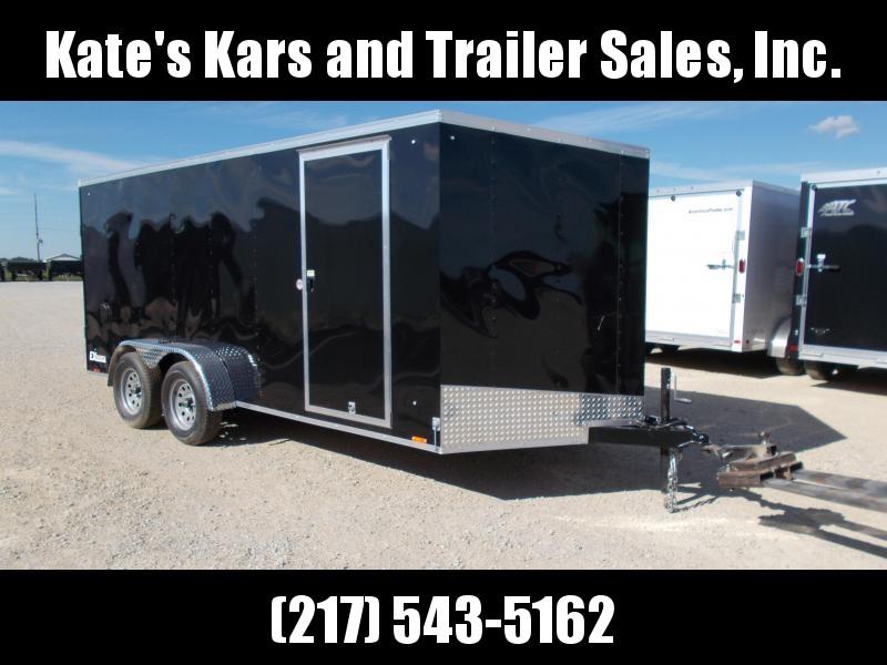*NEW* Cargo Express 7X16' Enclosed Trailer Cargo