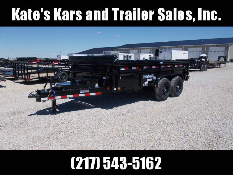 *NEW* Load Trail 14' Low Pro 7GA Floor Dump Trailer
