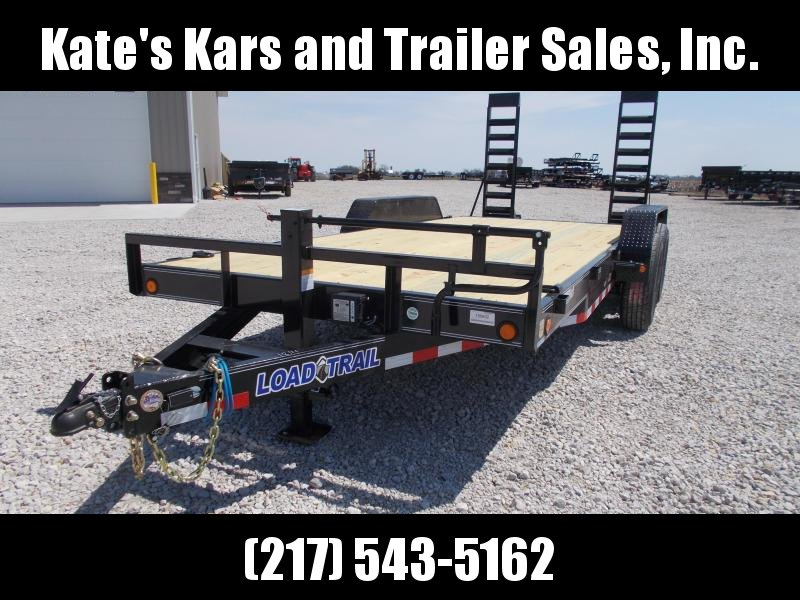 *NEW** Load Trail 83x18' Equipment bobcat trailer 14K LB
