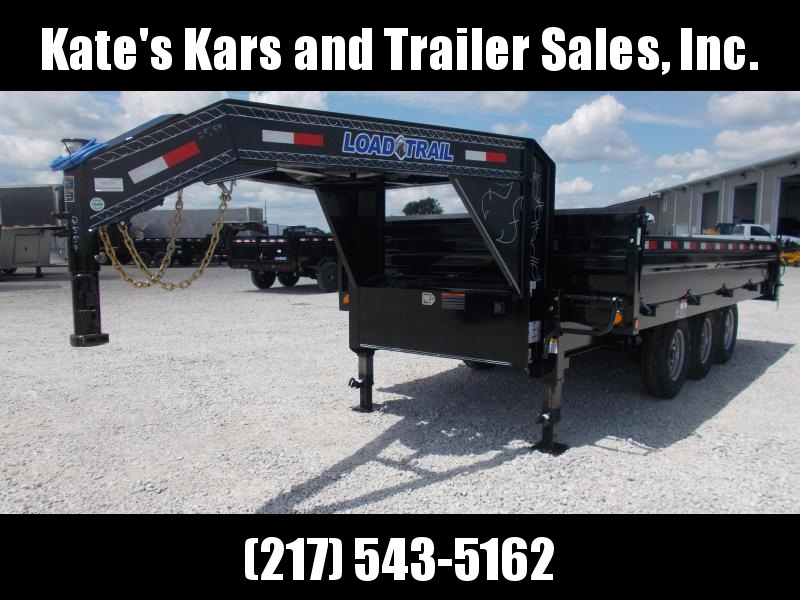 N*E*W* Load Trail 96X16 Deck Over 21K Fold Down Sides Dump Trailer