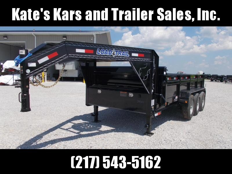 2019 Load Trail Triple Axle Gooseneck 83X16 Dump Trailer